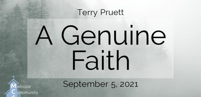 A Genuine Faith