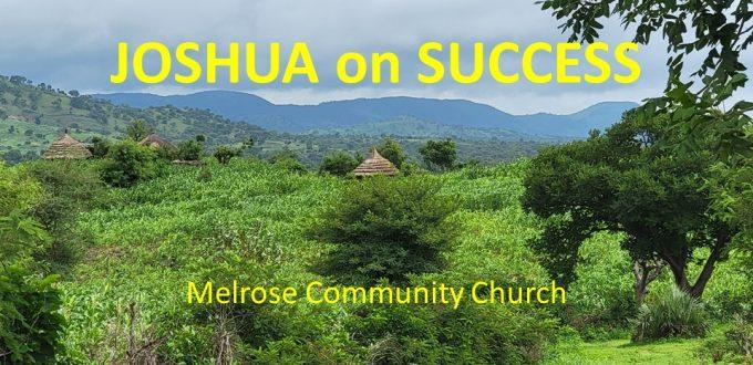 Joshua on Success